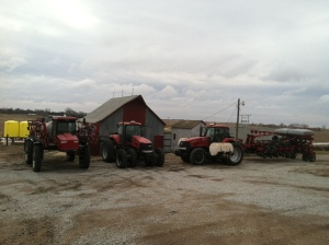 Everything ready to go for 2013 planting season