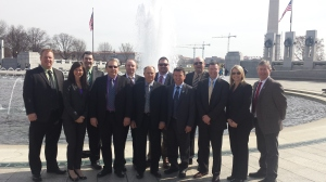Took a trip to DC to lobby for speeding up the regulatory process relating to new technology in agriculture.