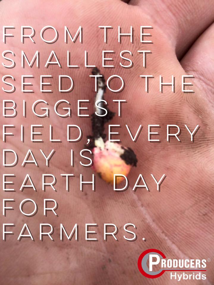 #EarthDay Farmers are Active Environmentalists